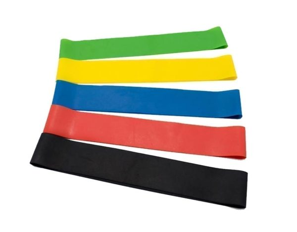 Resistance Loop Bands Resistance Rubber 5 Pack Resistance Exercise