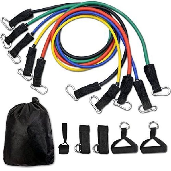 Resistance Bands Set Exercise Bands with Door Anchor