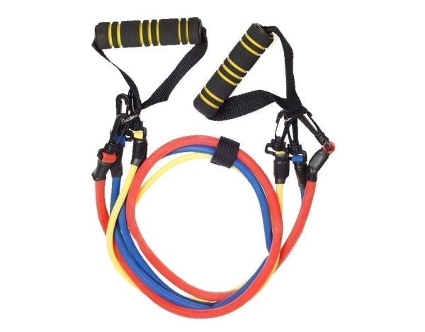 Resistance rope exercises 3 Levels