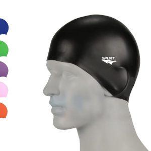 Spurt Silicone Swimming Cap