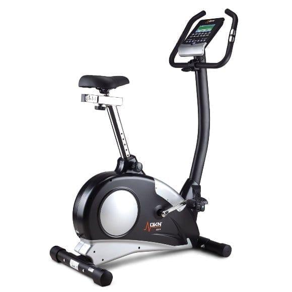 Upright Stationary Exercise Bike With Digital Monitor