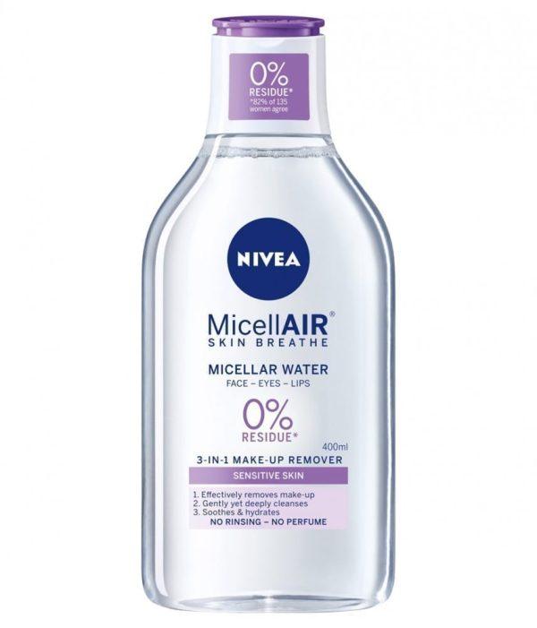 ماء ميسيلار نيفيا مزيل ميكياج للبشره الحساسه 400 مل
