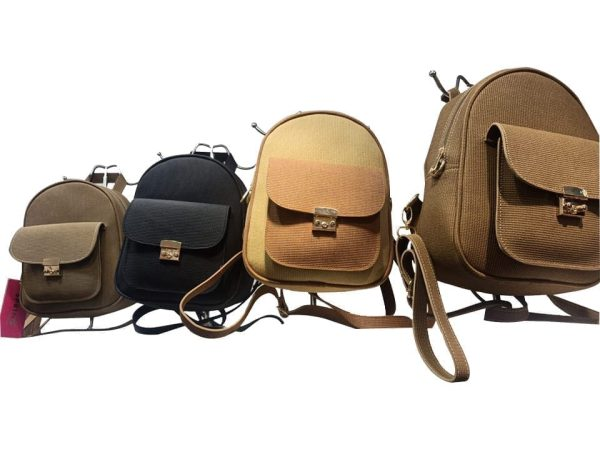 Women's Casual Suede Leather Backpack - Colors