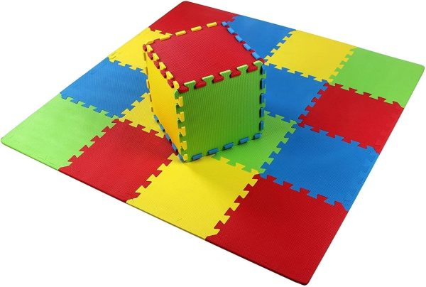 Floor of Kids Foam Play Mat