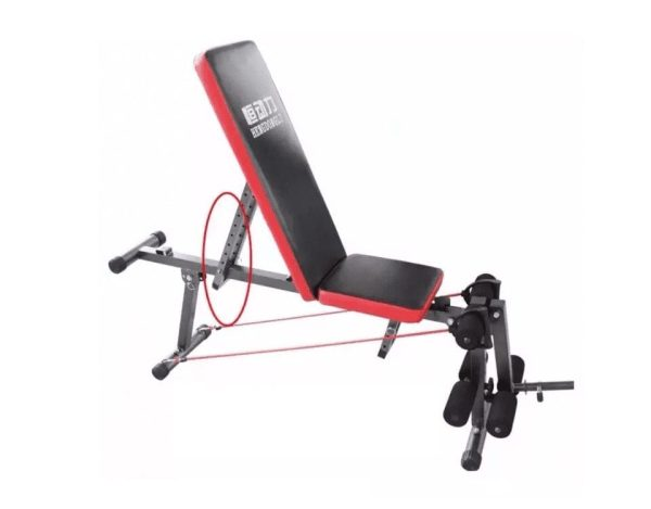 Bench with Upgraded Wider For Gym & Weight Lifting Workouts