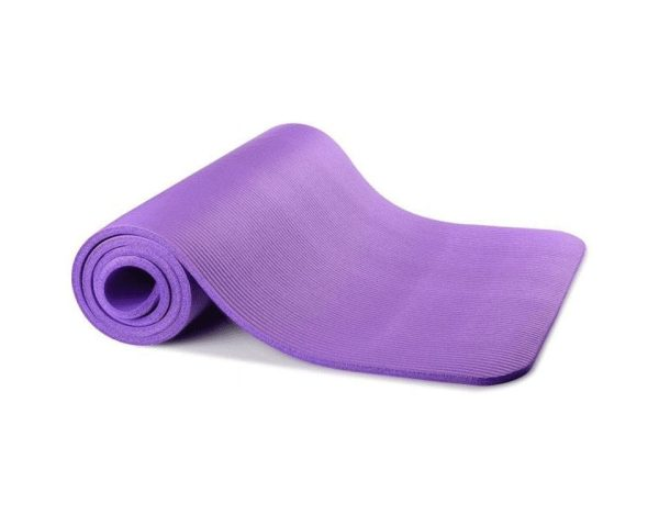 Exercise Yoga Mat With Carry Bag- Burble - Thick - 10 MM
