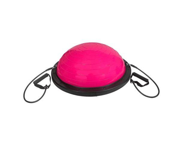 نصف كرة التوازن لتمارين التوازن واليوجا مع حبل مقاومة