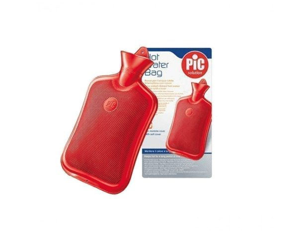 Hot water bag with case