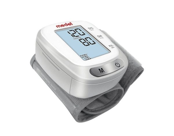 Medel Quick Wrist Home Blood Pressure Monitor Digital