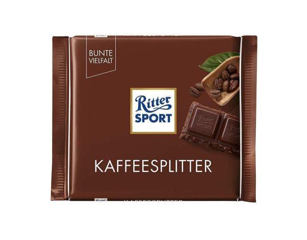 شوكولاتة ريتر الداكنة مع القهوة 100جم