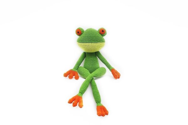 The Frog Grof kids Toy Hand Made