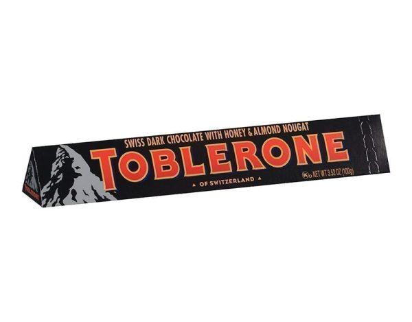 Toblerone Dark Chocolate 100 gm