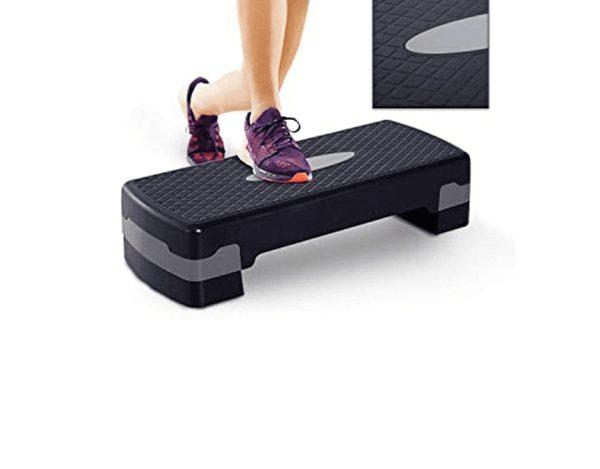 Yoga & Aerobic Step Board Exercises