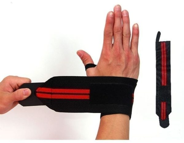 Wight Lifting Wristband Gym Fitness