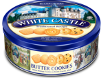 Butter Cookies White Castle 454g