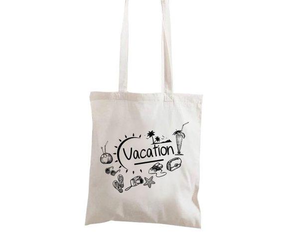 حقيبة الشاطئ القماش للصيف