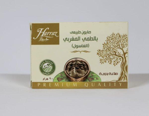 Moroccan Ghassoul Soap Harraz 90g