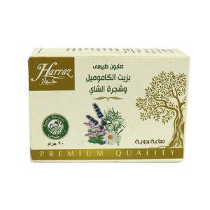 صابونة حراز بالكاموميل وزيت وزهور الشاي 90 جم
