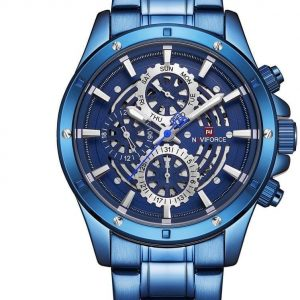 Naviforce 9174 Casual Wrist Watch Chronograph For Men - High Copy