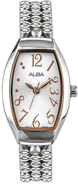 ALBA Ladies' Hand Watch Fashion Stainless Steel Bracelet AH8248X1 - High Copy