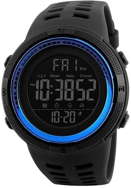 ساعة يد سكيمي رياضية رجالي الرقمية