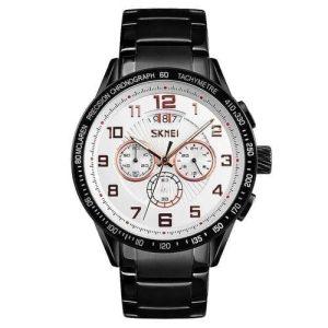 SKMEI Men Wrist Watch Quartz Stainless Steel For Men - Model 9176 - High Copy
