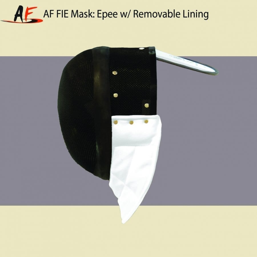 AF FIE MASK: EPEE 2019 W/ REMOVABLE LINING