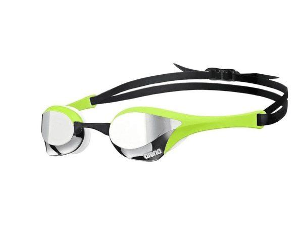 Arena Cobra Ultra Mirror Swimming  Goggles- Green