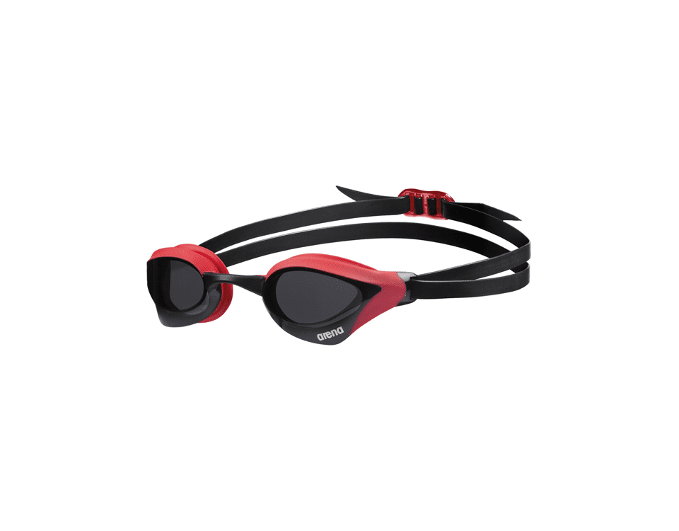 Arena Cobra Ultra Swipe Mirror Swimming Goggles – Red