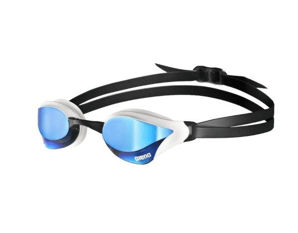 Arena Cobra Ultra Swipe Mirror Swimming Goggles - Blue