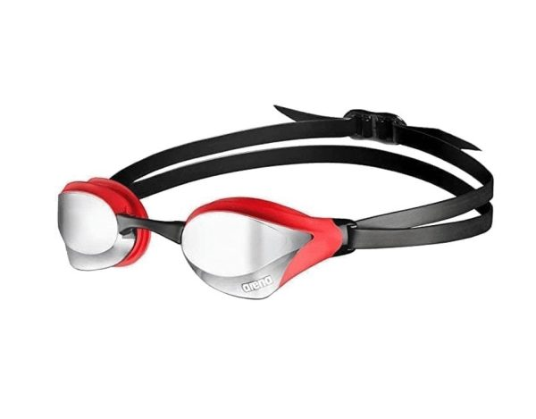 Arena Swimming Glassess Professional Goggles for Swimming- Red