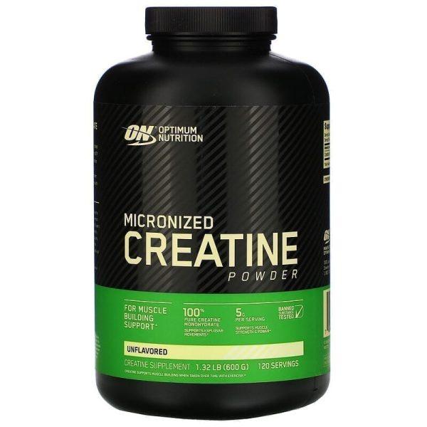 Optimum Nutrition Creatine Powder 120 Servings - 600 G