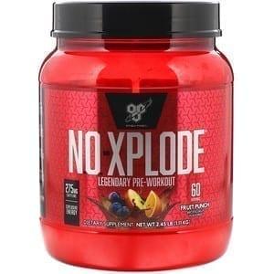 BSN NO-XPLODE 60 Servings 1.1 KG – Fruit Punch