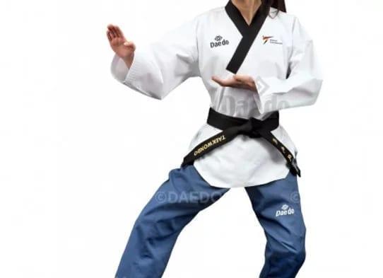 """بدلة تايكوندو بومزا """"دان"""" للسيدات ماركة دايدو"""