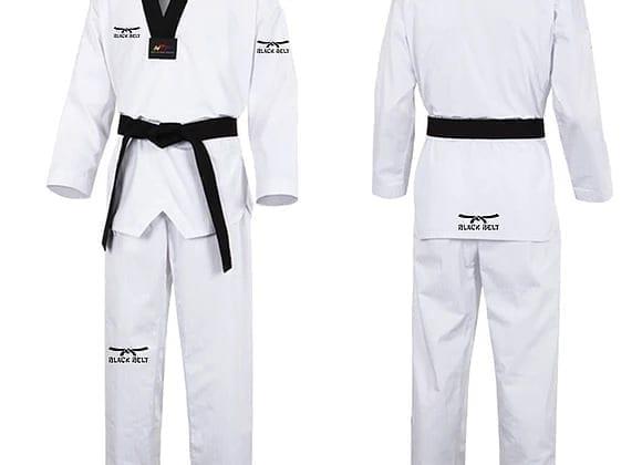 Fighter Taekwondo Uniform From Black Belt