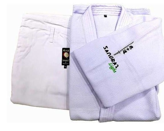 Judo Uniform Light White From Samurai