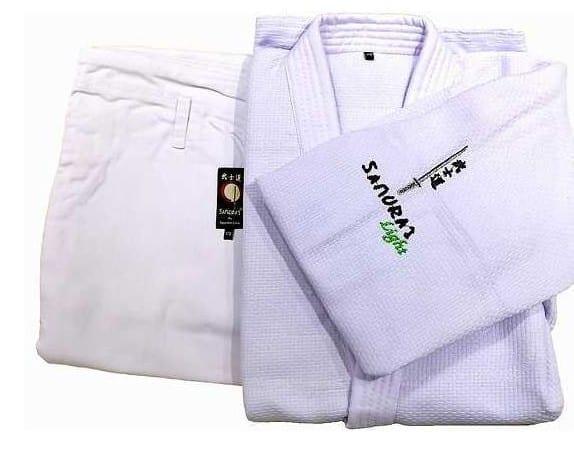 بدلة جودو لايت أبيض ماركة ساموراي