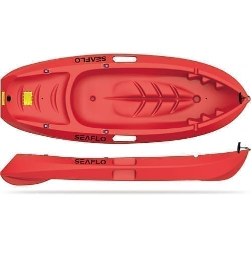 Kayak Paddling for Kids SF-1001 - Seaflo - Red