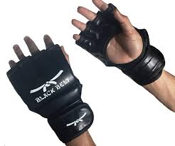 MMA Gloves By Black Belt - kickboxing gloves