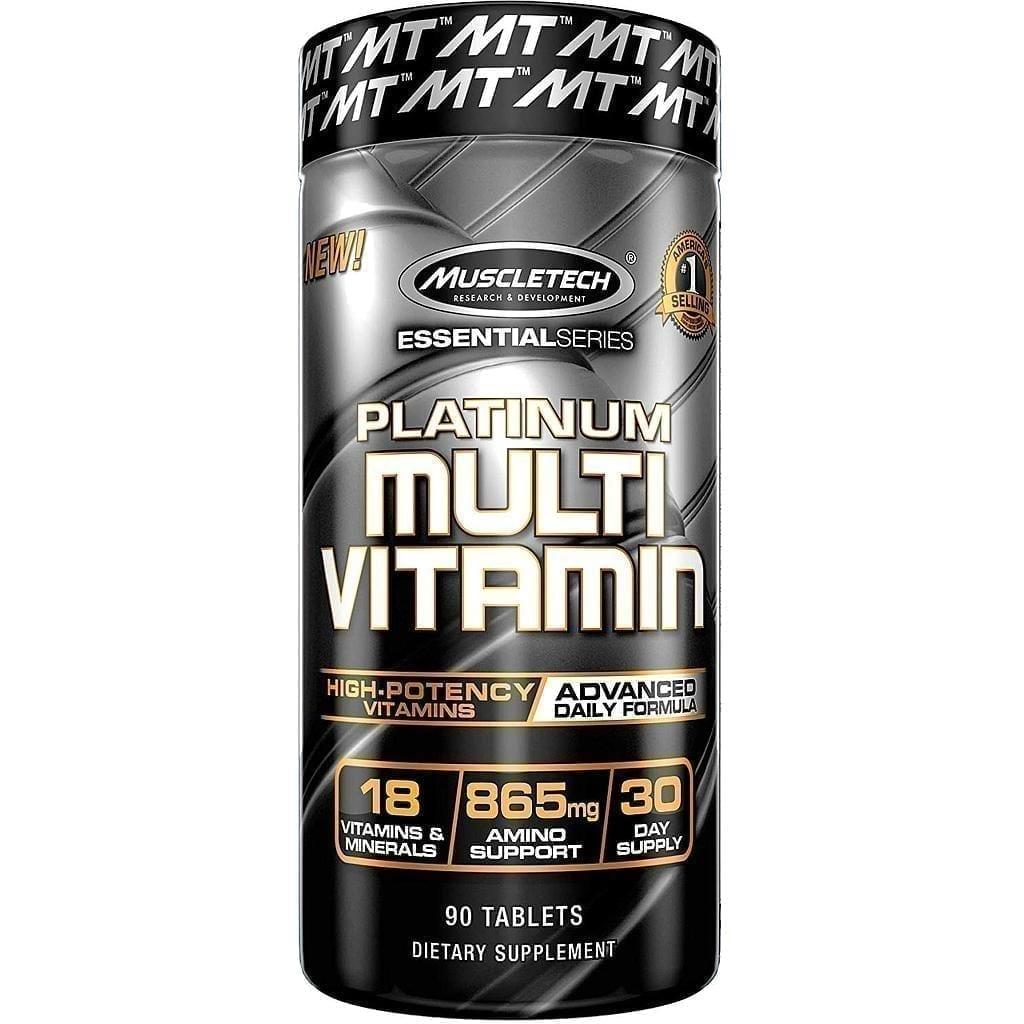 مسل تك بلاتينيوم متعدد الفيتامينات - 30 جرعة - 90 قرص