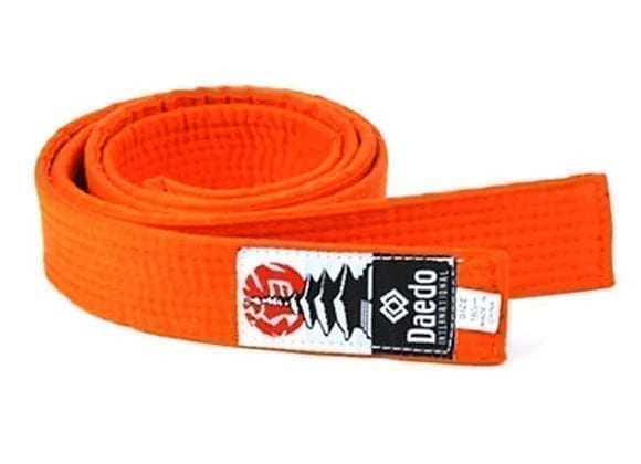 Orange Martial Arts Belt