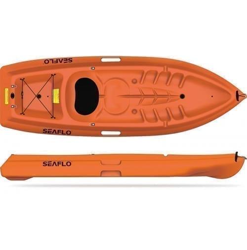 قارب كاياك العائلي متعدد الوظائف SF-2001 من Seaflo- أورانج