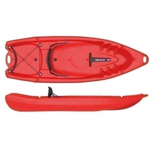 قارب كاياك عائلي SF-2002 من Seaflo - احمر