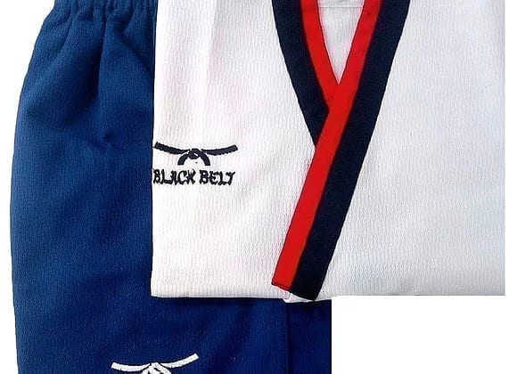 بدلة تايكوندو بومزا أولاد من بلاك بلت - أزرق