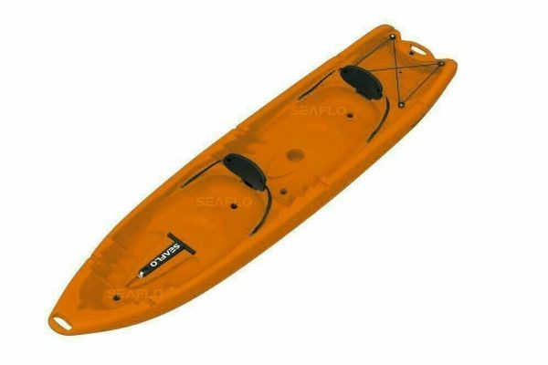 Kayak Parent and Child SF-4001 From Seaflo Water Sports - Orange