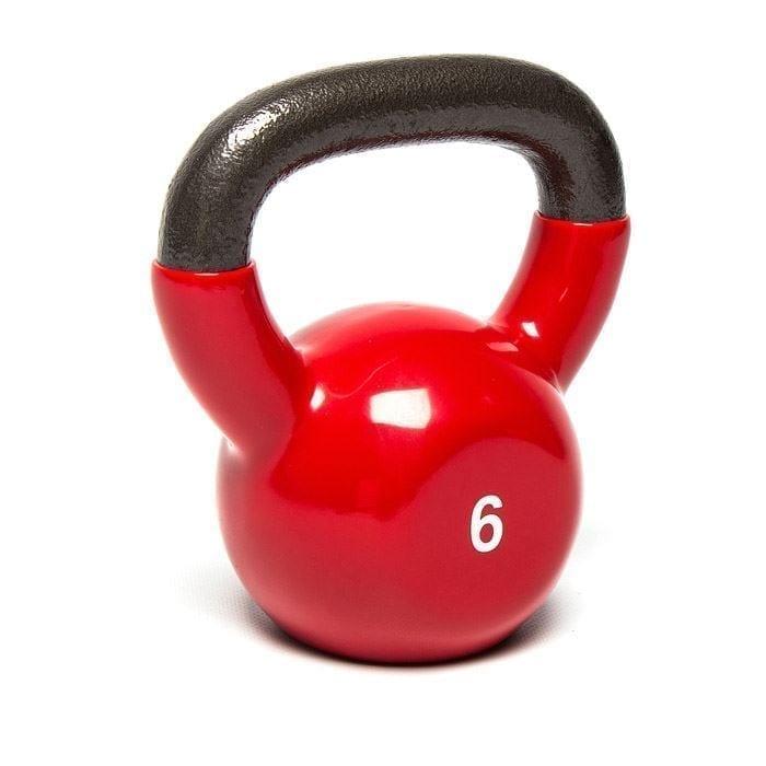دامبل كاتيل بيل 6 كجم لتمرينات بناء العضلات