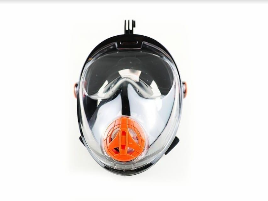 ماسك غوص كامل للوجه للأطفال - أقنعة الغوص من مونديال - اسود