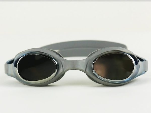 Mirrored Swimming Goggles - Gray From Mondial