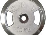 Nickel Weight Lifting Plates - 10 KG - One Piece