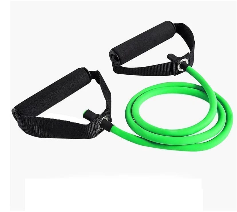Resistant Rope With Safety Handle - Green